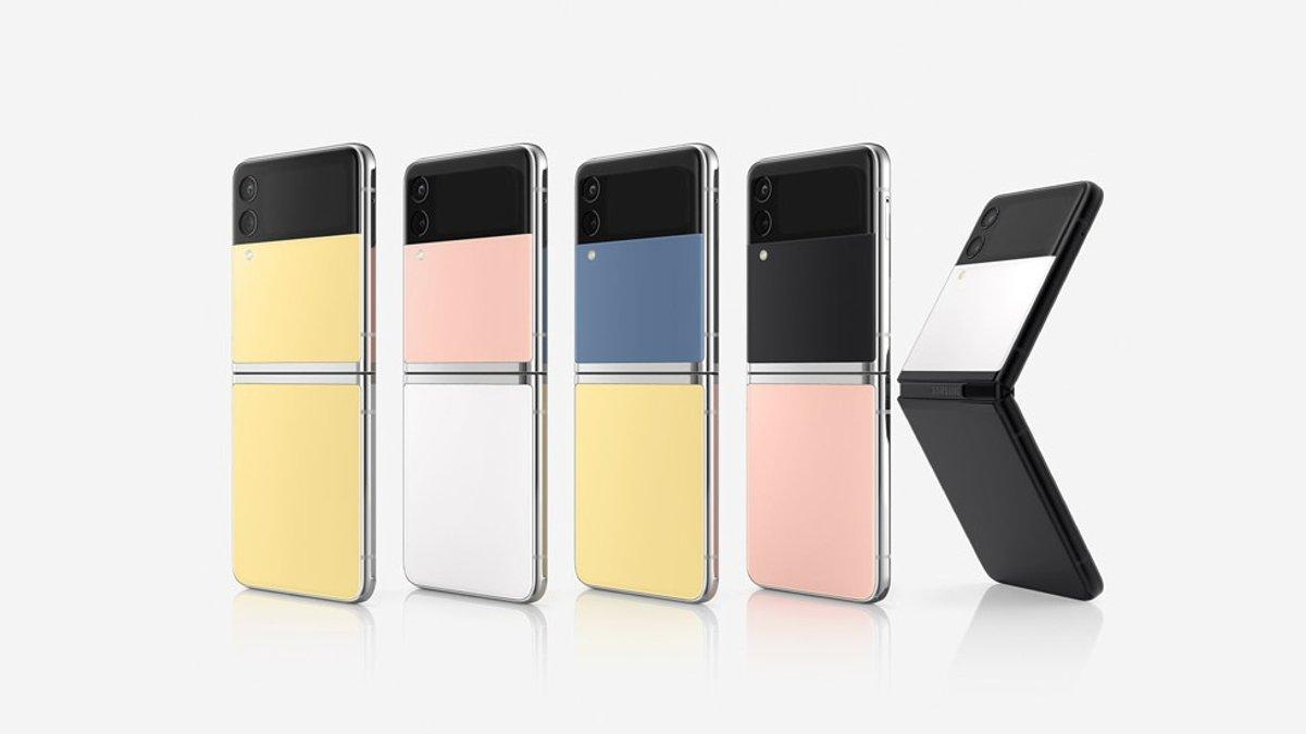 Samsung hat eine individualisierbare Version des Galaxy Z Flip3 vorgestellt.. © Samsung