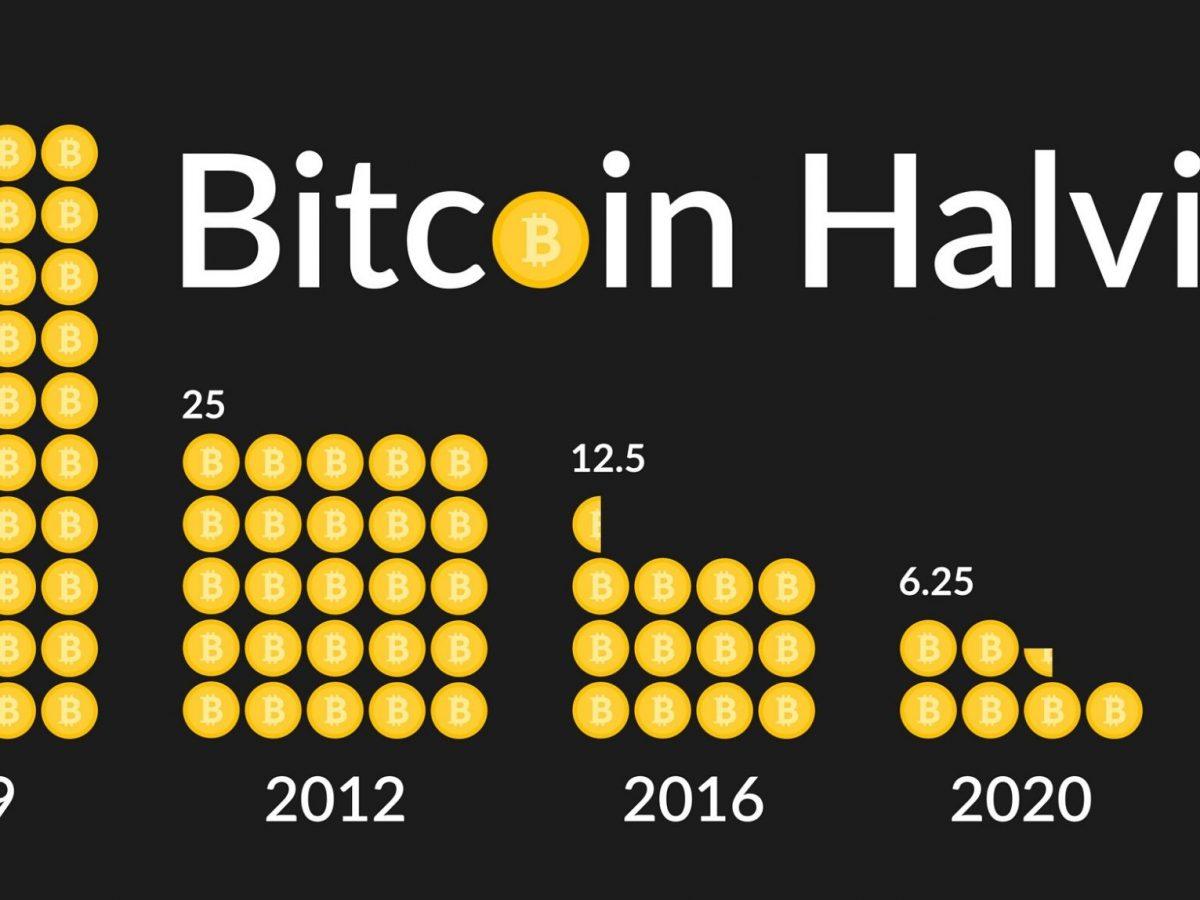 Bitcoin Halving-Vektor