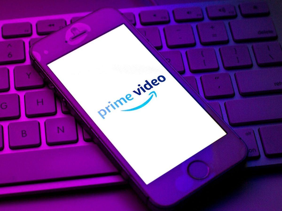 Amazon Prime Video-Logo auf einem Smartphone