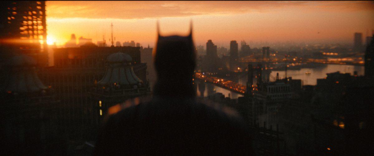 The Batman von hinten.